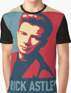 ricky astley  Graphic T-Shirt