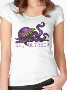 Oh, Ultros! Women's Fitted Scoop T-Shirt