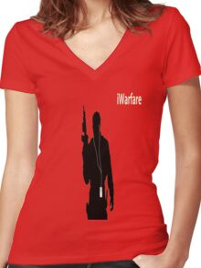 iWarfare Women's Fitted V-Neck T-Shirt