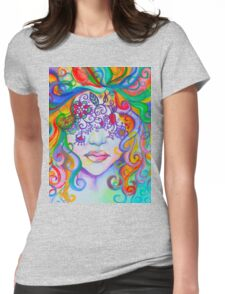 Color Blind Womens Fitted T-Shirt