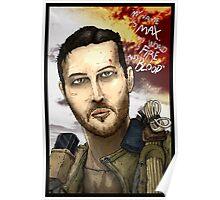 Mad Max Portrait Poster