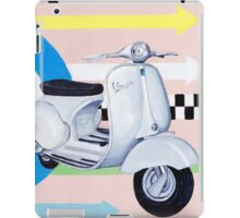 Scooter with Mod Target iPad Case/Skin