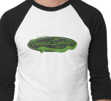 Baseball Team Tunnel Snakes Rule Men's Baseball ¾ T-Shirt