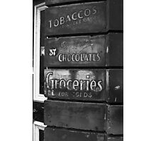 Say it with Chocolates, Cookridge Street, Leeds Photographic Print