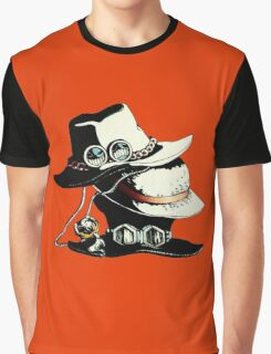 ONE PIECE - LUFFY, ACE, SABO'S HAT Graphic T-Shirt