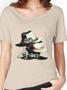 ONE PIECE - LUFFY, ACE, SABO'S HAT Women's Relaxed Fit T-Shirt