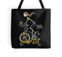 Spin, Spinning, Spin Class, Cycle - Brunette Tote Bag