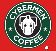Cybermen Coffee One Piece - Short Sleeve