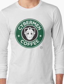 Cybermen Coffee Long Sleeve T-Shirt