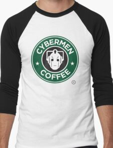 Cybermen Coffee Men's Baseball ¾ T-Shirt