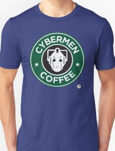 Cybermen Coffee Unisex T-Shirt