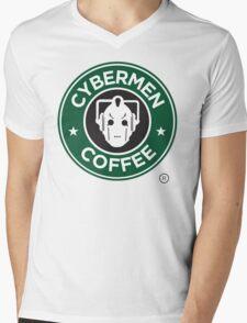 Cybermen Coffee Mens V-Neck T-Shirt