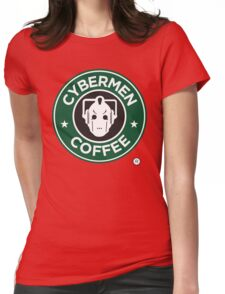 Cybermen Coffee Womens Fitted T-Shirt