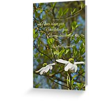 Always Beside You Greeting Card