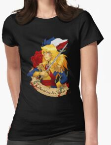 la Liberté ou la Mort Womens Fitted T-Shirt