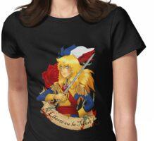 la Liberté ou la Mort Womens Fitted T-Shirt