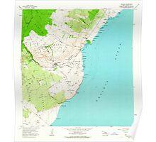 USGS TOPO Map Hawaii HI Naalehu 349603 1962 24000 Poster