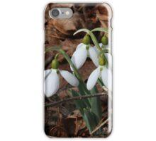 Snowdrops iPhone Case/Skin
