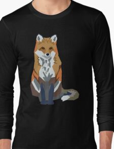 Graphic Fox Long Sleeve T-Shirt