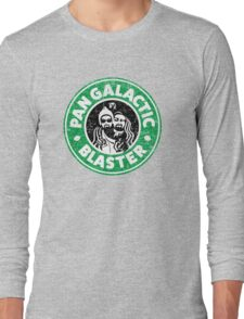 Pan Galactic (Gargle) Blaster - Coffee Long Sleeve T-Shirt