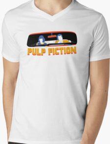 Pulp Fiction: Mia and Vincent Mens V-Neck T-Shirt