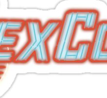 LexCorp Neon Logo Sticker