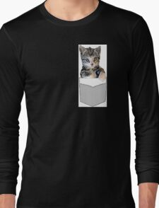 Peanut in a Pocket Long Sleeve T-Shirt