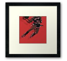 "Jumpman ""23"" Black Framed Print"