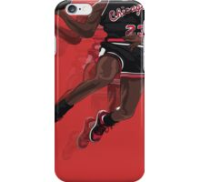 "Jumpman ""23"" Black iPhone Case/Skin"
