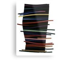 Ribbon Float Metal Print