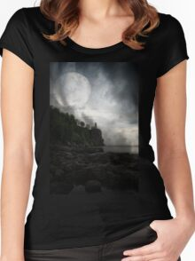 Silver Bay 9 Women's Fitted Scoop T-Shirt