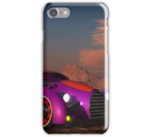 Grobo Car in a Desert Setting iPhone Case/Skin