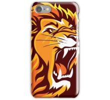 Lion Roaring (Chocolates) iPhone Case/Skin