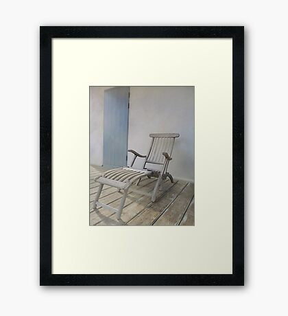 Lounge Chair Framed Print