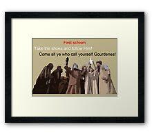 First schism Framed Print
