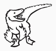 Li'l Raptor - Cute Dinosaur One Piece - Long Sleeve
