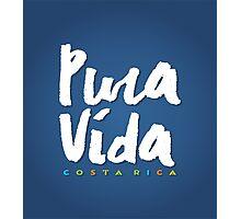 Pura Vida Costa Rica Photographic Print