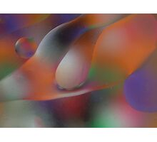 Oil and Color Photographic Print