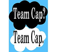 Team Cap? Team Cap Photographic Print