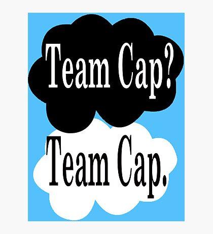 Team Cap? Team Cap Photographic Print