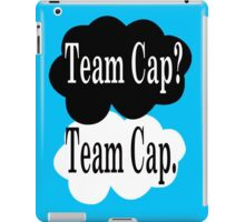 Team Cap? Team Cap iPad Case/Skin