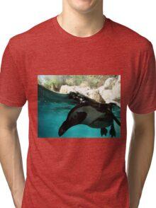 I SEE YOU PENGUIN! Tri-blend T-Shirt
