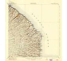 USGS TOPO Map Hawaii HI Honomu 349832 1915 62500 Photographic Print