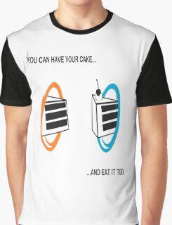 Cake Graphic T-Shirt