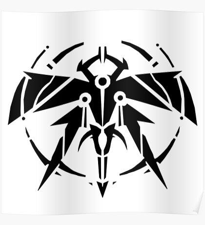 Rank-Up-Magic Raid force Black Edition Poster