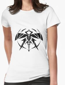 Rank-Up-Magic Raid force Black Edition Womens Fitted T-Shirt