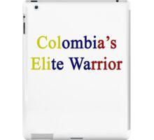 Colombia's Elite Warrior  iPad Case/Skin
