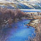 Winter's Edge, Flat Creek, Jackson by louisegreen