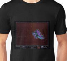 USGS TOPO Map Hawaii HI Oahu 349937 1965 250000 Inverted Unisex T-Shirt