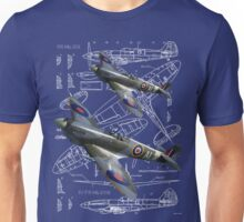 Blueprint Spitfire Unisex T-Shirt